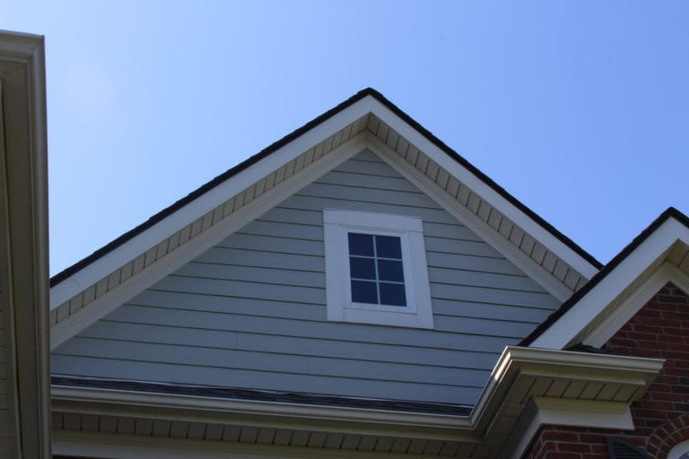 window trim and soffit and fascia