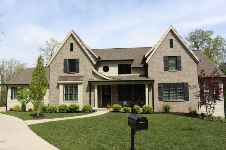 James Hardie Cobble Stone lap siding in Des Peres